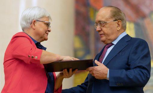 Премия имени Ломоносова Д. Мироновой