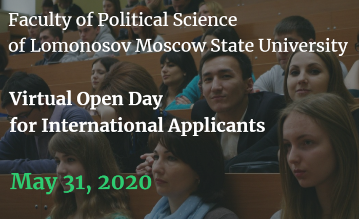 Virtual Open Day for International Applicants