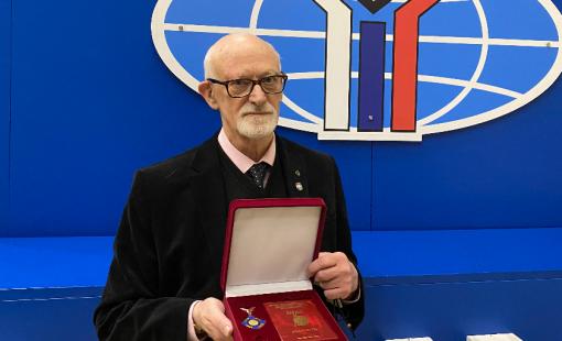 Павел Афанасьевич Цыганков награждён Орденом МГИМО За заслуги