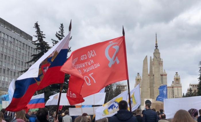 Торжественный митинг ко Дню Победы